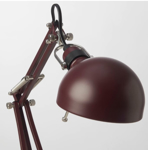 Picture of IKEA FORSÅ Work Lamp dark red
