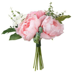 Picture of IKEA SMYCKA Artificial Bouquet, pink, 25 cm