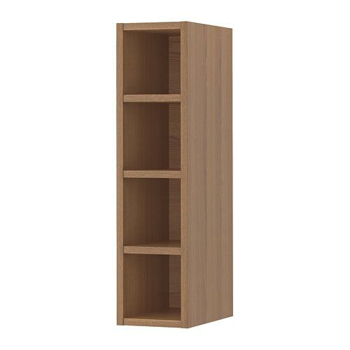 Picture of IKEA VADHOLMA Open Storage, Brown, Stained Ash, 20x37x80 cm