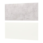 Picture of IKEA LYSEKIL Wall Panel, Double Sided Brass-Colour, Stainless Steel Colour, 119.6×55 cm /1.196 m