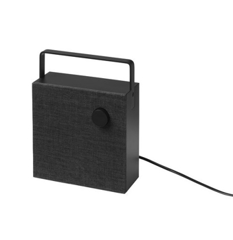 Picture of IKEA ENEBY Bluetooth Speaker,Black and Charcol , 20×20 cm