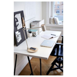 Picture of IKEA RIGGAD LED Work Lamp with Wireless Charging, White
