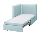 Picture of IKEA VALLENTUNA Sofa-bed module with Backrests, Different Colors
