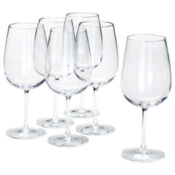 Picture of IKEA STORSINT Juice Glass, Clear Glass, 67 cl,6 Pack