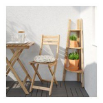 Picture of IKEA ASKHOLMEN Plant Stand, Light Brown Stained