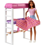Picture of Barbie Doll Loft Bed Playset
