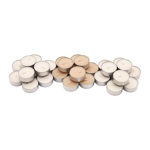 Picture of IKEA SINNLIG Scented Tealight, Sweet Vanilla, Natural, 30 Pack