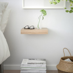 Picture of IKEA LACK Wall Shelf, White Stained Oak Effect -30×26 Cm