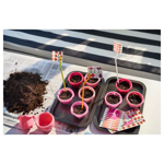 Picture of IKEA SOCKERKAKA Baking Cup, Assorted Pink Shades 6 Cups