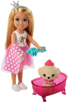 Picture of Barbie Princess Adventure  Chelsea  Doll and Pet Castle Playset, for 3 to 7 Year Olds