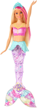 Picture of Barbie Dreamtopia Sparkle Lights Mermaid Doll with Swimming Motion and Underwater Light Shows