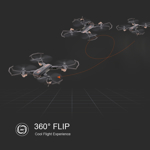 Picture of XIN HAI HONG Z816W Foldable 0.3MP Camera Wifi FPV Altitude Hold Drone App Control RC Quadcopter