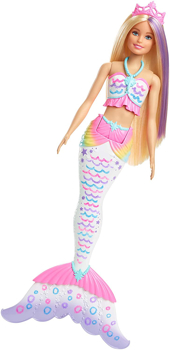 Picture of Barbie Dreamtopia Magic Mermaid Doll, with Outfit and Tail  Crayola Washable Colour Wands