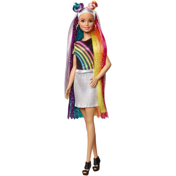 Picture of Barbie Rainbow Sparkle Hair Doll