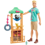 Picture of Ken Wildlife Vet Playset with Doll, Vet Care Station and Accessories