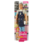 Picture of Ken Barista Doll, Broad, Wearing Café Apron