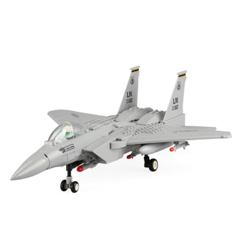 Picture of Toy Sets F-15 Eagle Fighter Building Block Toys For Kids