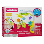 Picture of WINFUN ANIMAL FRIEND MUSICAL MOBILE