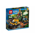 Picture of Lepin Cities Series Jungle Halftrack Mission Blocks 404 Pcs