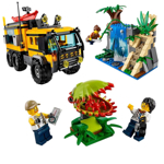 Picture of Lepin Cities Series Jungle Mobile Lab Blocks 460 Pcs