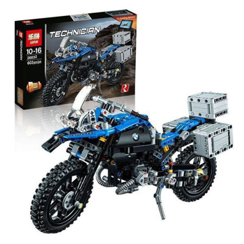 Picture of Lepin Technology Series Bmw R 1200 Gs Adventure Blocks 603 Pcs
