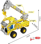 Picture of Creative Metal, Simulation Construction Toys Sets STEM Learning Toys