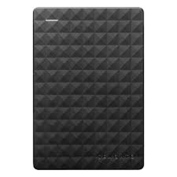 SEAGATE HARD DRIVE EXPANSION PORTABLE  in BLACK