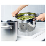 Picture of IKEA STABIL Pasta insert, stainless steel, 5 l