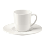Picture of IKEA OFANTLIGT Espresso Cup and Saucer, White, 7 cl