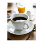 Picture of IKEA VÄRDERA Coffee Cup and Saucer, White, 20 cl