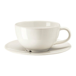 Picture of IKEA VARDAGEN Coffee Cup and Saucer, Off-White, 14 cl