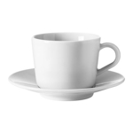 Picture of IKEA 365+ Cup with Saucer, White, 13 cl