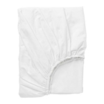 Picture of IKEA DVALA Fitted Sheet, 140×200 cm- White