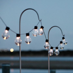 Picture of IKEA UTSUND LED Lighting Chain with 24 Lights, Outdoor Black