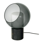 Picture of IKEA EVEDAL Table Lamp, Marble Grey, Grey Globe