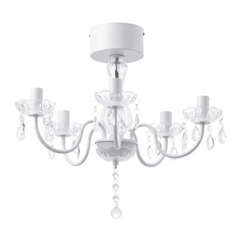 Picture of IKEA FYRTIO Chandelier, 5-armed, White