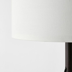Picture of IKEA LAUTERS Table Lamp, Brown Ash, White