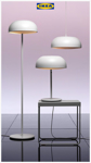 Picture of IKEA NYMÅNE Floor Lamp, White