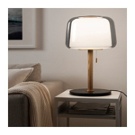 Picture of IKEA EVEDAL Table Lamp, Grey Marble, Grey