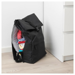 Picture of IKEA STARTTID Backpack, Black