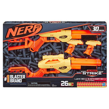 Picture of 30-Piece Nerf Alpha Strike Lynx SD-1 and Stinger SD-1 Multi-Pack