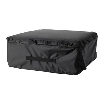 Picture of IKEA TOSTERÖ Storage Bag for Cushions, Black, 62×62 cm