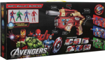 Picture of Avengers Soft Bullet Blaster Gun with Mask & Action Figure Super Hero Toy iRun Man