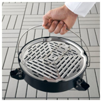 Picture of IKEA KORPÖN Portable Charcoal Barbecue, Black