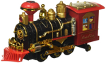 Picture of Classic Bump and Go Toy Train w/ Smoking Action, Real Train Horn, Working Headlight