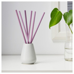 Picture of IKEA NJUTNING Vase and 6 Scented Sticks, Lavender Bliss, Lilac
