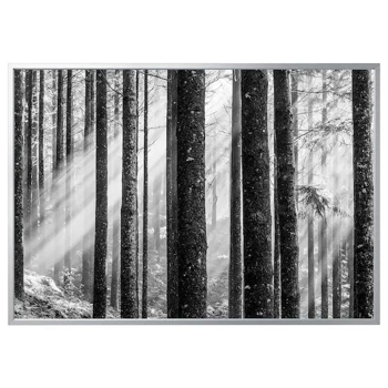 Picture of IKEA BJÖRKSTA Picture with Frame, Sunbeams, Aluminium-Colour, 200×140 cm