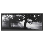 Picture of IKEA BJÖRKSTA Picture with Frame, Meadow Dream II, Aluminium- Colour, 140×56 cm