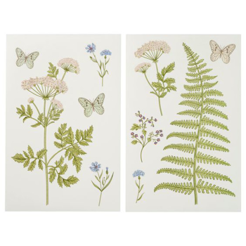 Picture of IKEA KINNARED Decoration Stickers, Fern & Flowers