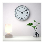 Picture of IKEA PUGG Wall Clock, Stainless Steel
